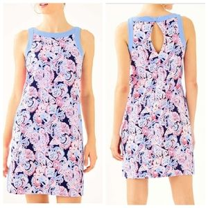 Lilly Pulitzer stretch Angie shift dress size 16